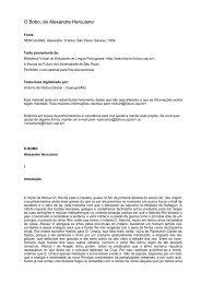 O Bobo, de Alexandre Herculano - BEMaior