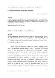 O Sertão de Riobaldo: uma leitura a partir de ... - Revista Trágica