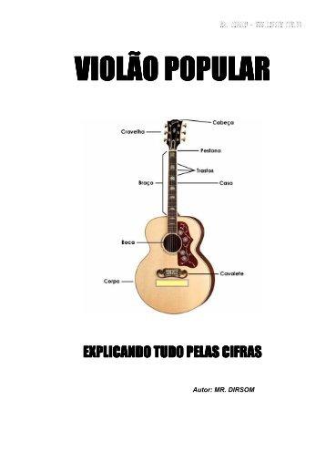 VIOLÃO - ENTENDA AS CIFRAS - Mr.Dirsom