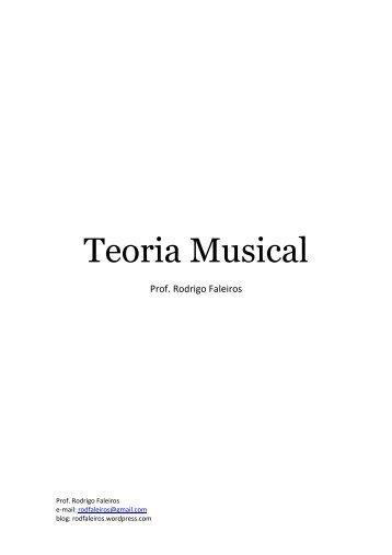 Apostila Teoria Musical – Três Lagoas