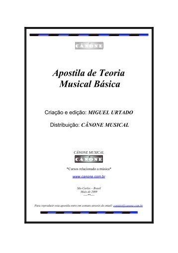 Apostila de Teoria Musical - Orquestrashekina.com.br
