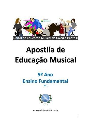 Apostila de Educação Musical - Portal de Educação Musical do ...