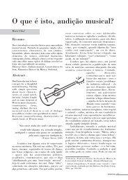 O que é isto, audição musical? - revista teatro e dança UFBA ...