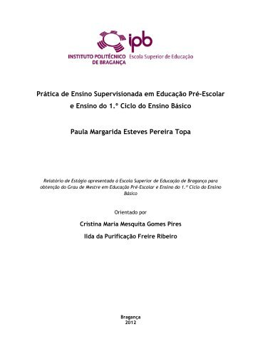 Relatório 3.pdf - Biblioteca Digital do IPB - Instituto Politécnico de ...