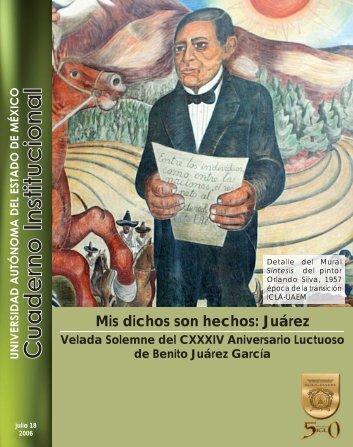 cuaderno intitucional isidro juarez - Universidad Autónoma del ...