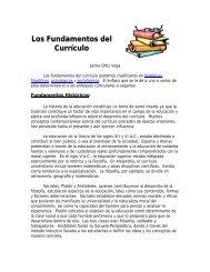 Los Fundamentos del Currículo - Pontificia Universidad Católica de ...