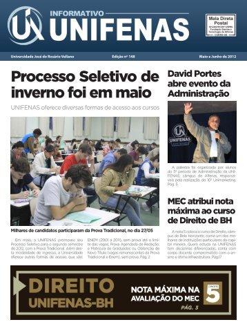 Edição 148 - maio e junho/2012 - Unifenas
