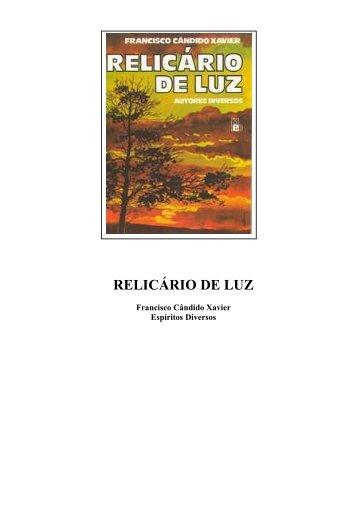 071 - Espíritos Diversos - Relicário de Luz _1962_ - Comunidades