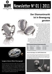 Newsletter No 01 | 2011 - Wipf Goldschmied