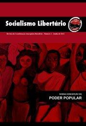 Revista Socialismo Libertário - Coordenação Anarquista Brasileira