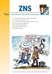ZNS - Zahnärztlicher Bezirksverband Schwaben
