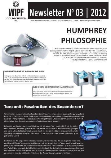 Newsletter No 03 | 2012 - Wipf Goldschmied