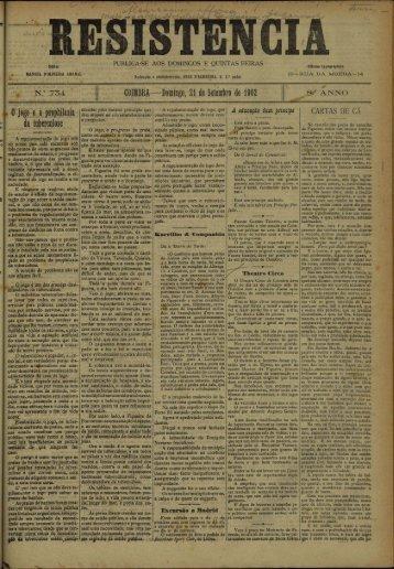 0 jogo e a prophilaxia da tuberculose - Universidade de Coimbra