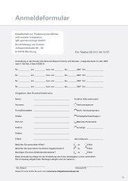 Anmeldeformular - Zentrum Bayern Familie und Soziales - Bayern