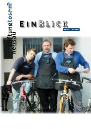 Einblick 01/2010 - Stiftung Tosam