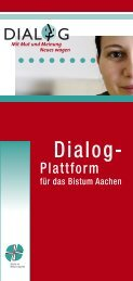 DIALOG-Plattform Aachen (pdf Download)460.2 kB - ZdK
