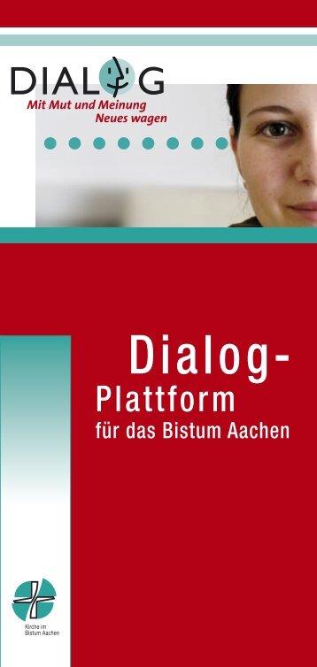 DIALOG-Plattform Aachen (pdf Download)460.2 kB - ZdK