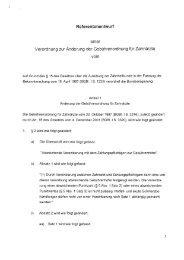 GOZ-Entwurf - Zahnärztlicher Bezirksverband Schwaben