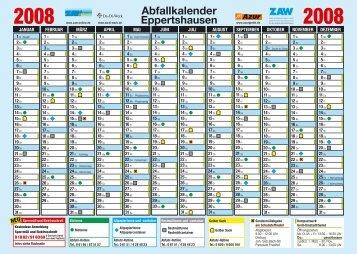 Abfallkalender Eppertshausen - Zweckverband Abfall