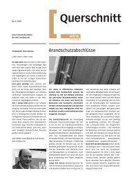 Querschnitt - Wirz Holzbau AG