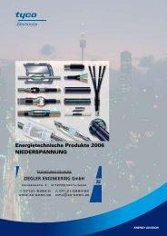 Energietechnische Produkte 2006 NIEDERsPaNNuNg - Ze-gmbh.de