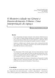 O Mosteiro-cidade na Génese e Desenvolvimento Urbano: Uma ...