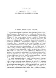 La diversità nella città e il dialogo interreligioso (Enzo Pace - 2007)