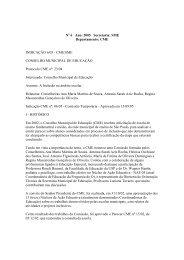 2005 Secretaria: SME Departamento - Secretaria Municipal de ...