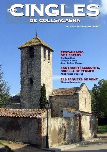 Revista ELS CINGLES - n65 Juliol 2011 - Ajuntament de Tavertet