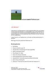 wissenswert-Referenzen - WissensWert GmbH