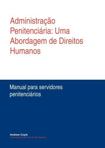 Manual para Servidores Penitenci.rios.PMD - DHnet