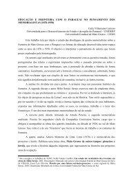 EDUCAÇÃO E FRONTEIRA COM O PARAGUAI NO PENSAMENTO ...