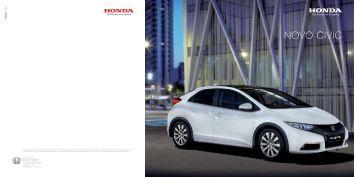 Catálogo - concessionário Honda