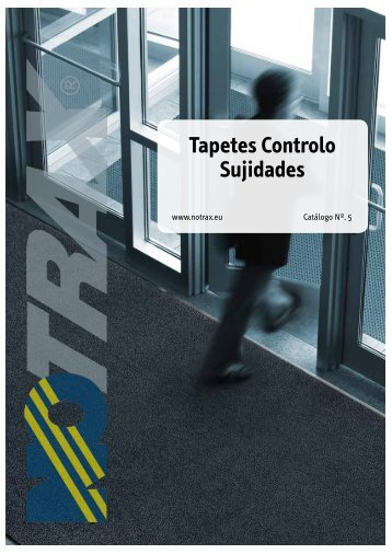 Tapetes Controlo Sujidades - Tecnopor