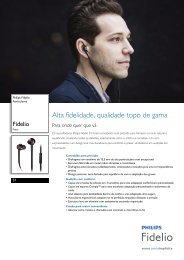 Leaflet S1_00 Released Portugal (Portuguese) High-res A4 ... - Philips