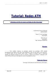 Tutorial: Redes ATM (CBPF-NT-005/99) - Rede Rio