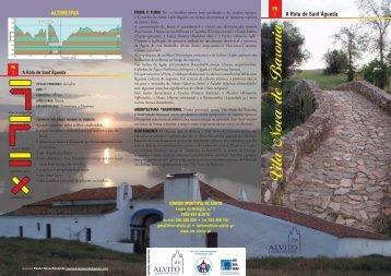 PR 1 Na rota de Sant'Agueda.pdf - Câmara Municipal de Alvito