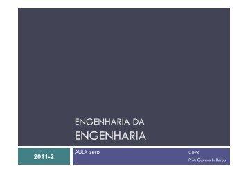 ENGENHARIA - UTFPR