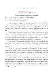 relações de gênero e sexualidade Guaraci da Silva Lopes Martins