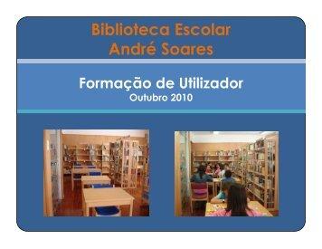 Biblioteca Escolar André Soares - Webnode