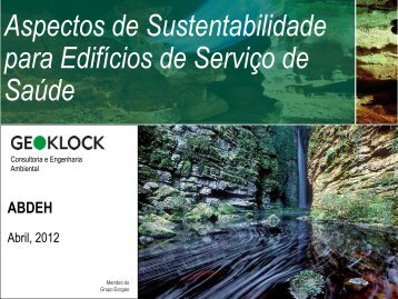 sustentabilidade - abdeh