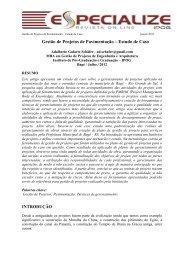 Modelo para a formatação dos artigos a serem utilizados no ... - IPOG