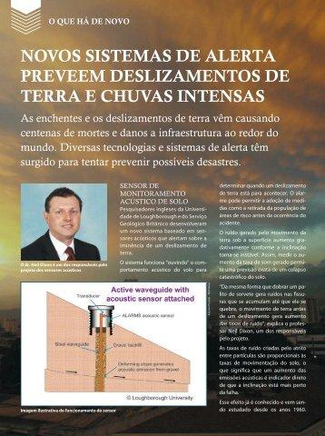 novos sistemas de alerta preveem deslizamentos de terra e chuvas ...