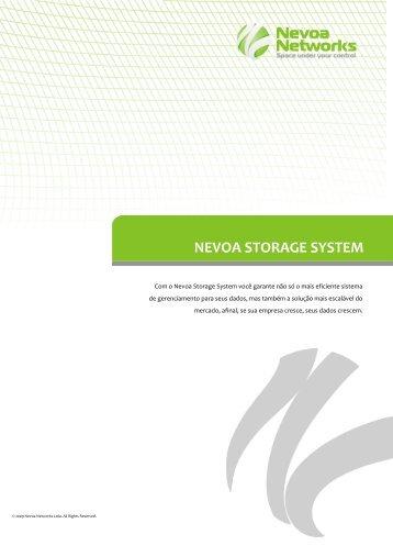 Comparativo entre as soluções atuais de storage ... - Nevoa Networks