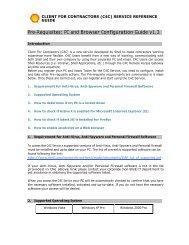 C4C Pre-requisite Guide