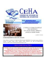 RECOMENDAÇÕES - Secretaria Regional de Educação