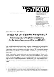 ausführlichen Stellungnahme zu der  ... - Zentralstelle KDV