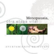 otra etapa vital Menopausia, - Ayuntamiento de Getafe