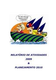 RELATÓRIO DE ATIVIDADES 2009 & PLANEJAMENTO 2010 - aspipp