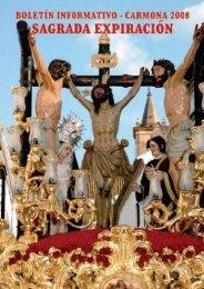 Boletín 2008 - Hermandad Expiración, Carmona